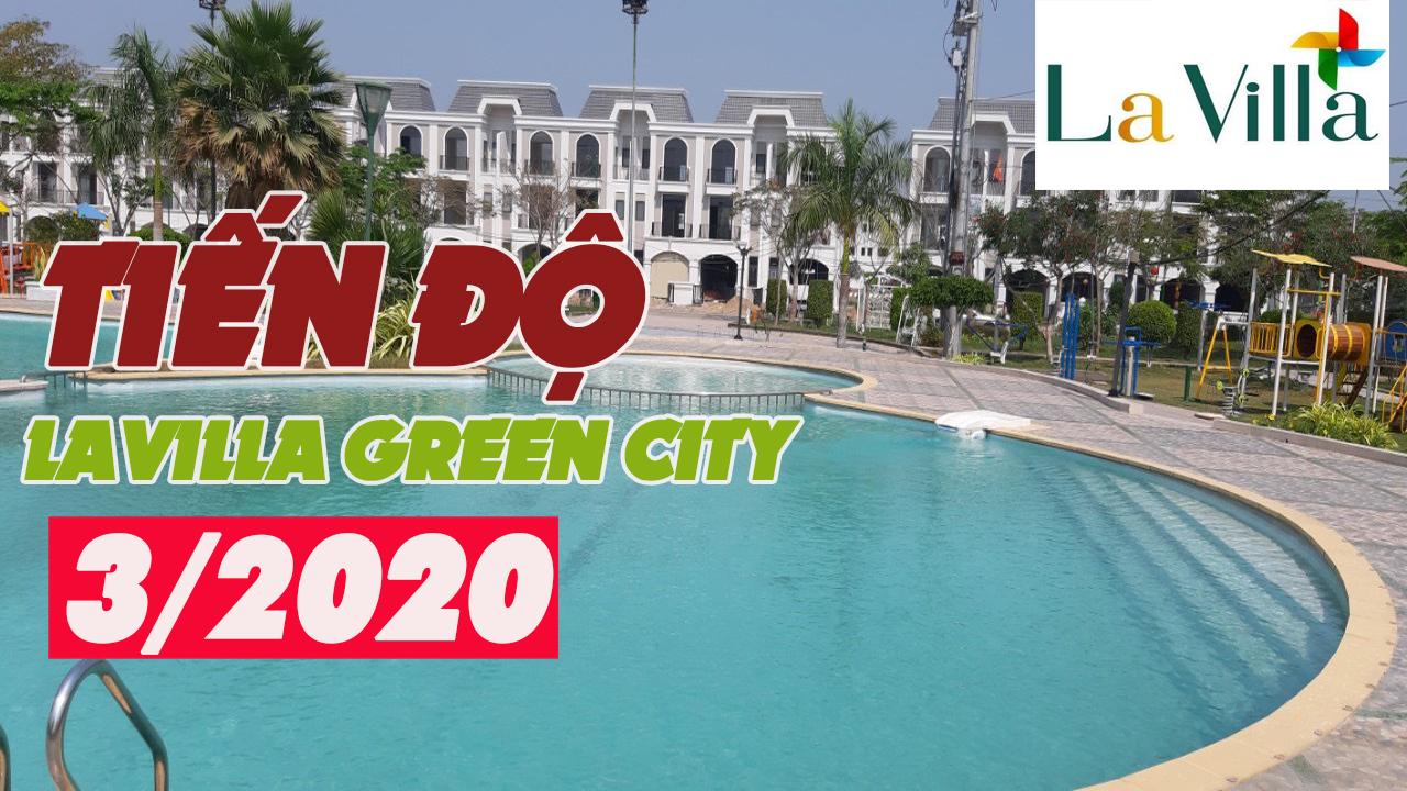 Tiến độ dự án Lavilla Green City tháng 11 năm 2019